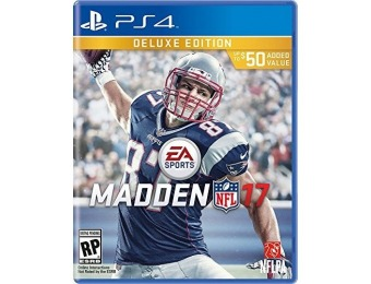 78% off Madden NFL 17 Deluxe Edition - PlayStation 4