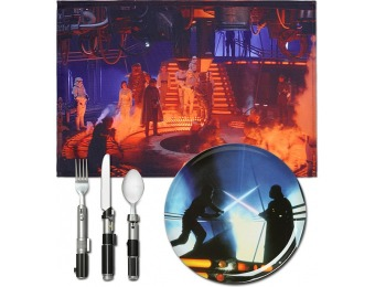 76% off Star Wars Cloud City Dinner Set by ThinkGeek