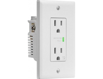 75% off Insignia 2-Outlet In-Wall Surge Protector
