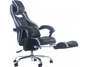 $127 off Merax Racing Style Executive PU Leather Swivel Chair