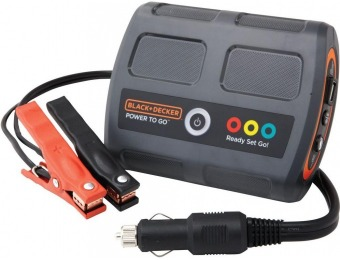 80% off Black+Decker Power2Go 12V Lithium-Ion Battery Booster
