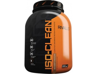 74% off Iso Clean Whey Protein Isolate