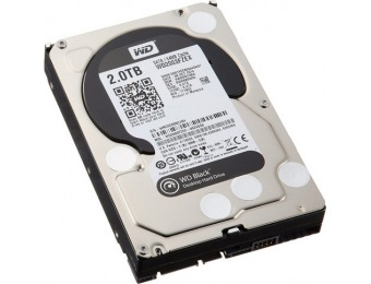 $109 off WD Black 2TB Internal SATA Hard Drive WD2003FZEX