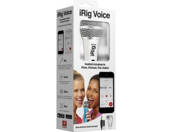 75% off iRig Voice Microphone for iPhone, iPad, iPod