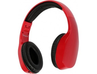 75% off Targus TA12910-RED-OD Bluetooth Wireless Headphones