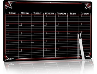 67% off PVC Dry Erase Monthly Magnetic Calendar