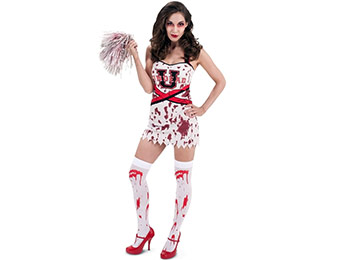 96% off Zombie Cheer Squad Adult Women's Costume