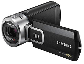 46% off Samsung HMX-QF20 HD Flash Camcorder with Wi-Fi