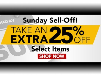 Nashbar Sunday Sell-Off - Take An Extra 25% Off