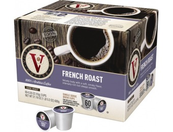 50% off Victor Allen's French Roast (60-Pack)