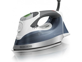 29% off BLACK+DECKER Digital Advantage Professional Steam Iron