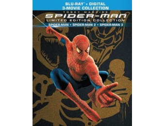 51% off Spider-Man Trilogy Limited Edition Collection (Blu-ray)