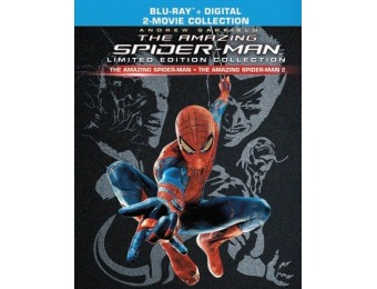 33% off The Amazing Spider-Man 1 & 2 Limited Edition (Blu-ray)