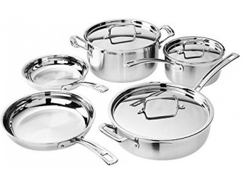 $160 off Cuisinart MCP-8NW MultiClad Pro Cookware Set