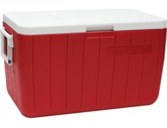 52% off Coleman 48 Qt Performance Cooler - Red