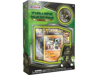 38% off Pokemon Zygarde Complete Forme Pin Collection Trading Cards