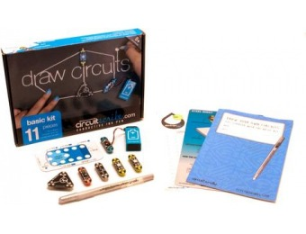 56% off Circuit Scribe: Basic Draw Circuits Learning System