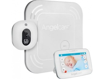 "$115 off Angelcare Baby Movement and Video Monitor with 4.3"" Screen"