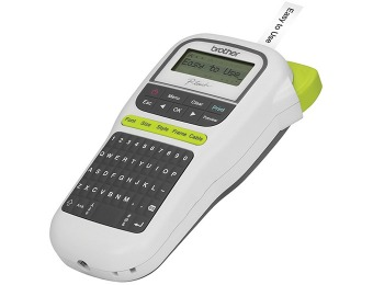 71% off Brother PTH110 P-Touch Label Maker