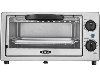 33% off Bella BLA14413 4-Slice Toaster Oven