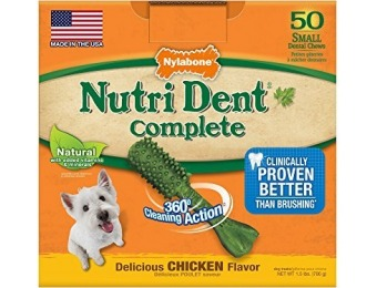 69% off Nutri Dent Adult Chicken 50ct Small Pantry Pack