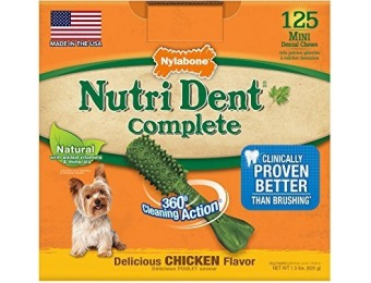 68% off Nutri Dent Adult Chicken 125ct Mini Pantry Pack