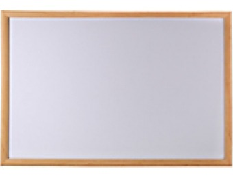 "78% off Oak Finish Marker Board, 36"" x 48"""