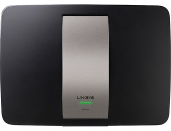 $100 off Linksys AC1600 802.11ac Smart Wi-Fi Router EA6400