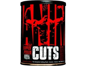 50% off Animal Cuts Thermogenic Fat Burner for Weight Loss - Ripped and Peeled Results