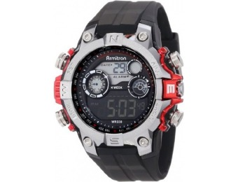 61% off Armitron Sport Men's 40/8251RED Digital Watch