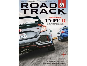 $43 off Road & Track Magazine 1 Yr Subscription