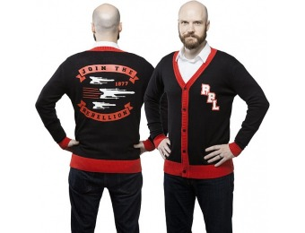 80% off Star Wars Join the Rebellion Unisex Cardigan