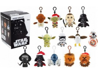 81% off Underground Toys Star Wars Mystery Plush Clipz Blind Box