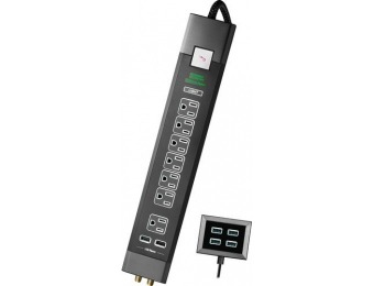 40% off Rocketfish RF-HTS4218 7-Outlet 6-USB Surge Protector Strip