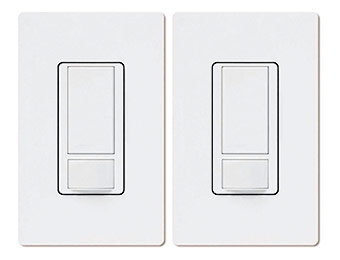 25% off Lutron Maestro Occupancy Single Pole Sensing Switch (2-Pack)
