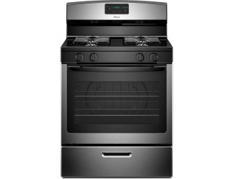 34% off Amana AGR5330BAS 5.1 cu. ft. Gas Range in Stainless Steel