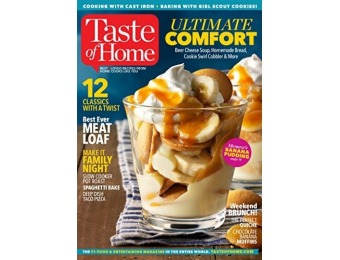 73% off Taste of Home Magazine - 6 Month Subscription