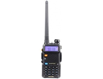 71% off BaoFeng UV-5R 65-108 MHz Dual-Band Ham Radio
