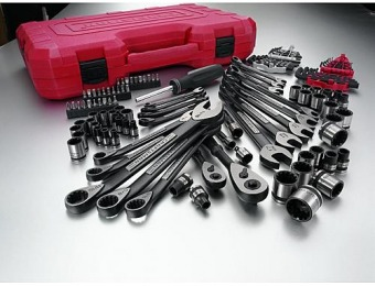 $82 off Craftsman 115 pc. Universal Mechanics Tool Set