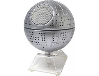84% off iHome Star Wars Death Star Li-B18 Portable Bluetooth Speaker