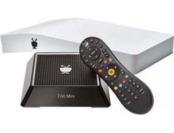 $150 off TiVo BOLT 500GB DVR and Media Player & TiVo Mini Package