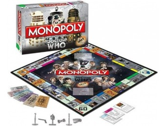 46% off Monopoly: Dr. Who Edition 50th Anniversary Collector's Edition