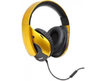 85% off Oblanc OG-AUD63056 Gold Shell 210 Dual Driver Headphones