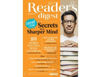 $47 off Reader's Digest Large Print Magazine, 10 Issues / $12