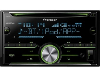$60 off Pioneer FH-X730BS CD Bluetooth In-Dash Receiver