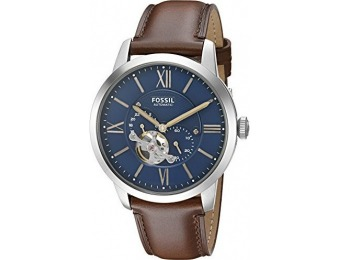 $110 off Fossil Men's ME3110 Townsman Automatic Leather Watch