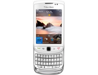 50% off BlackBerry 9810 Cell Phone (Unlocked), White
