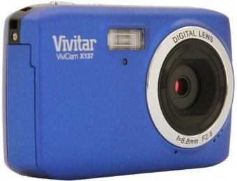 68% off Vivitar X137 10.1MP Digital Touch Screen Camera