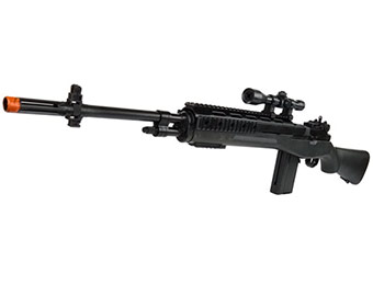72% off Tactical OPS M14 FPS-200 Spring Airsoft Sniper Rifle