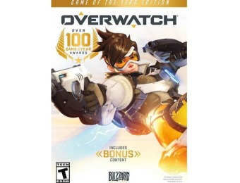 50% off Overwatch Game of the Year Edition - Windows